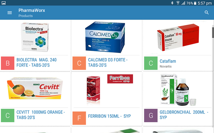 Pharmaworx screenshot